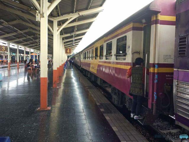 Como Viajar En Tren En Tailandia