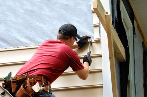 Siding repair from storm damage in Wentzville MO