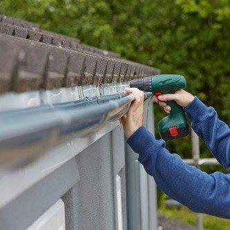 Installing gutters in wentzville mo