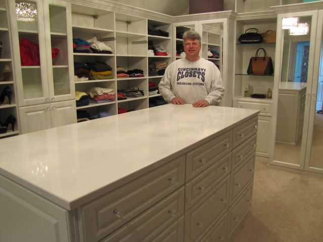 Custom closets in Covington, KY