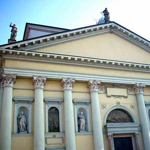 facciata chiesa pandino