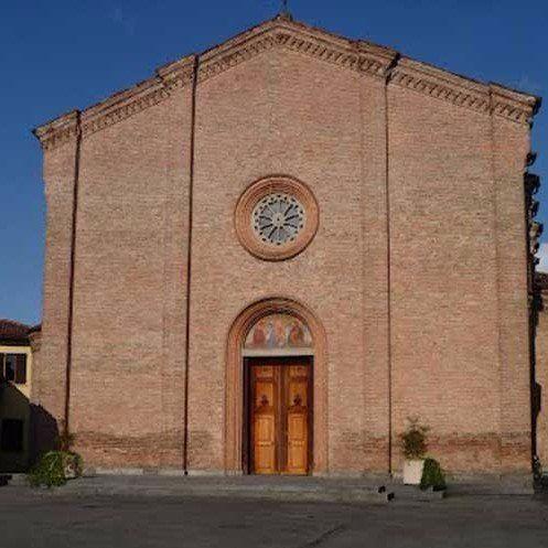 chiesa nel centro di mozzanica