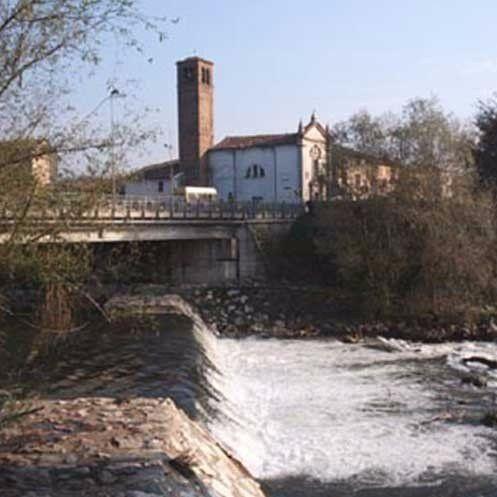 fiume a montodine