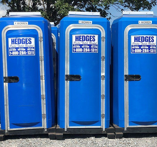 Website For Renting Homes: Hedge's Portable Toilet Rental
