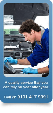 MOT and servicing - Washington, Tyne and Wear - Washington Auto Repair Centre - A quality service that you can rely on year after year