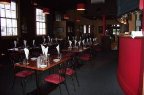 Fine dining area in Hawera