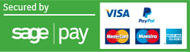 Via, MasterCard, Maestro, American Express logo