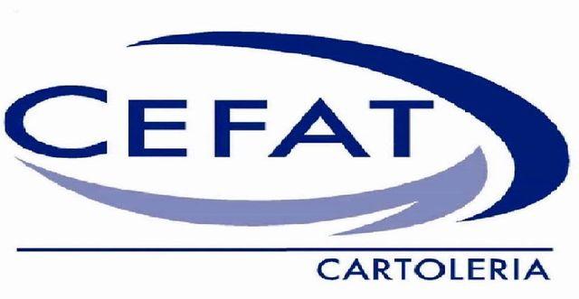 CEFAT CARTOLERIA -LOGO