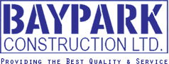 BAYPARK CONSTRUCTION LTD logo