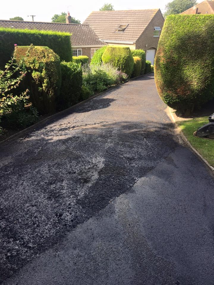 high-quality driveway