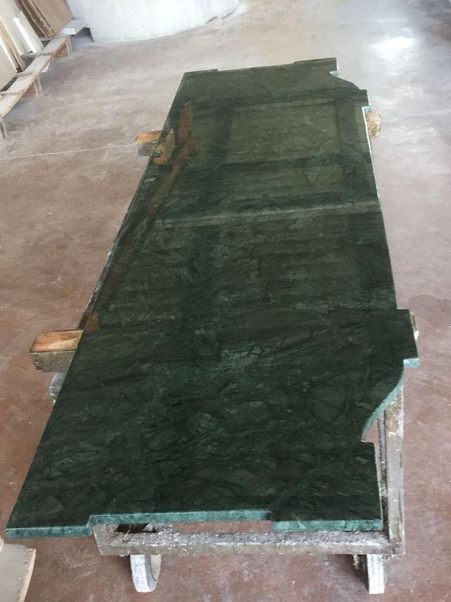 lastra di marmo verde