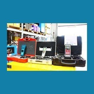 strumentazione di misura laser