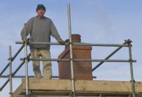 Our chimney professionals make your chimney look professional
