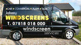 windscreen repair - Omagh, Co Tyrone - Johnny Windscreens Ltd -Johnny's van