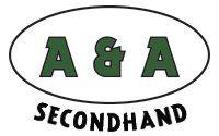 A & A Second hand company logo