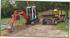 Groundwork contractors - Hastings - J Webb Plant Hire - excavator