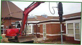 Self drive plant - East Sussex - J Webb Plant Hire - digging