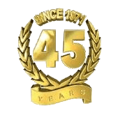 SINCE 1971 45 YEARS-logo