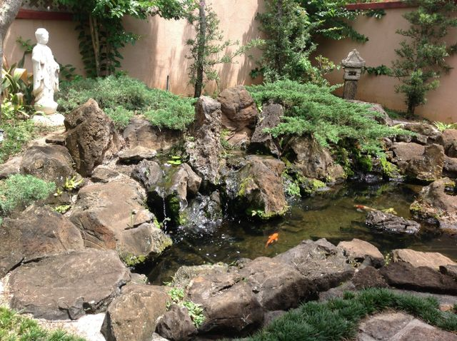 Water features & ponds designed by our landscaping services in Oahu, HI