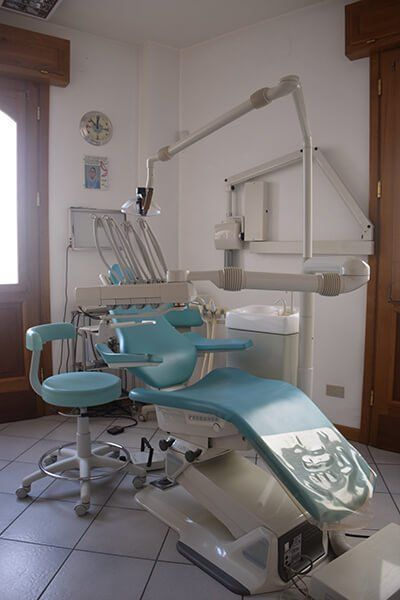 Interni dello studio dentistico Orsini all'Aquila