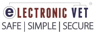 electronic vet logo