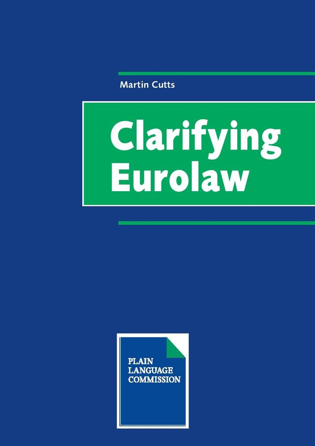Book: clarifying Eurolaw