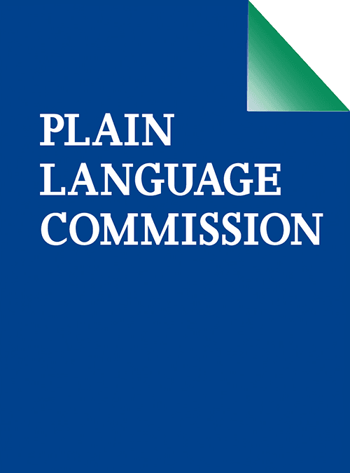Plain Language Commission logo