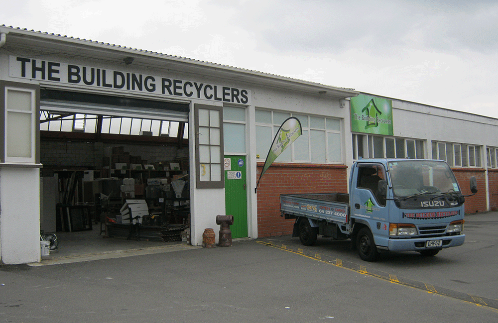 Table fixed by recyclers in Wellington