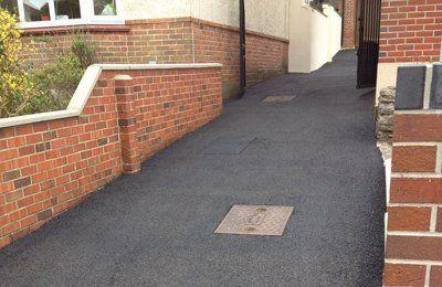 Tarmac driveway sealed