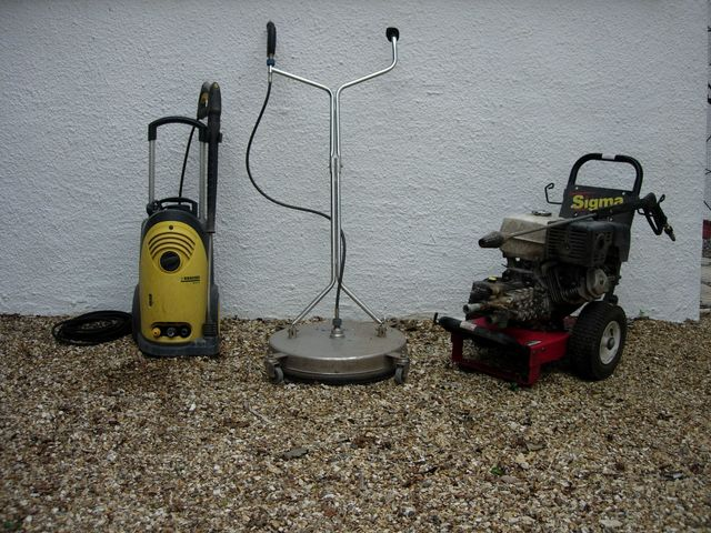 Selection of pressure washers from Sealers Direct Ltd