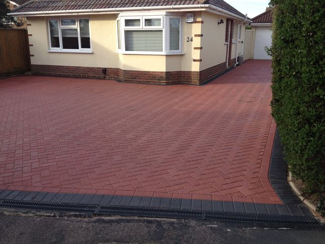 Driveway sealed with Block paving sealer Ultra HD