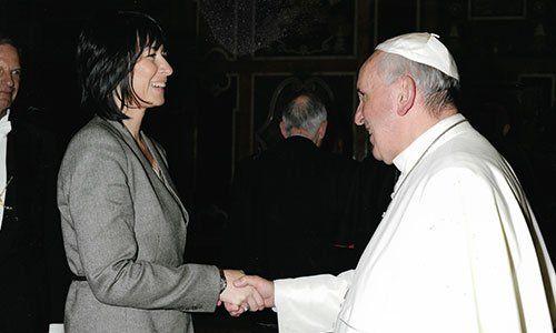 Avv. Alessia Gullo con Papa Francesco