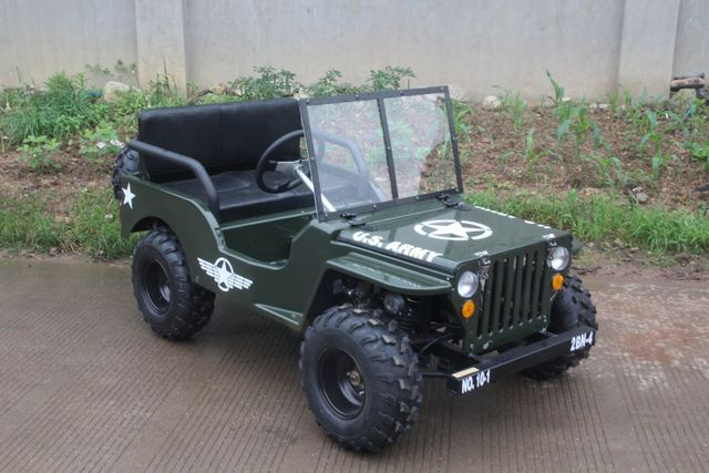 Ypperlig Mini Willy's Jeep VD-08
