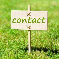 Contact placard