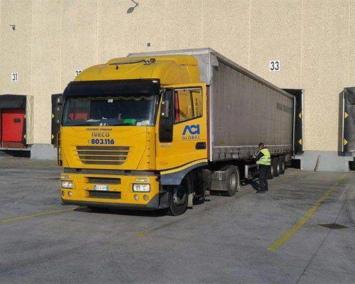 Camion del Partner ACI Global