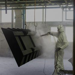 Dry ice equipment cleaning