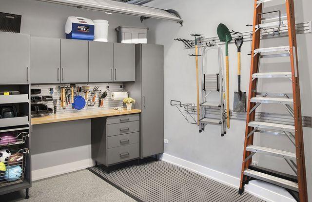 Custom Garages Garage Cabinets Organizers Workbenches North Carolina