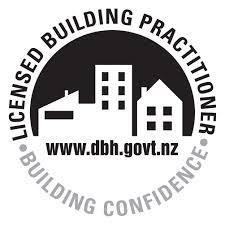 Licensed building logo