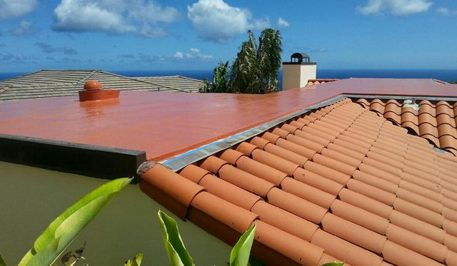 Professionally installed roofing tiles by On Top Roofing