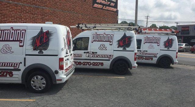 Ace Plumbing Trucks