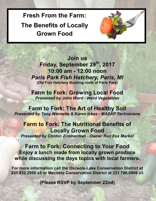 Farm to Fork - Fresh From the Farm