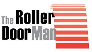the roller door man nq pty ltd logo