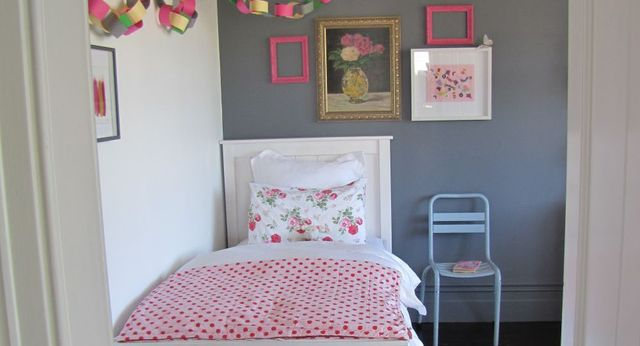 A bedroom in Wellington with a fresh paint job