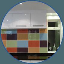 coloured tiles