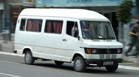 wheelchair-accessible minibus