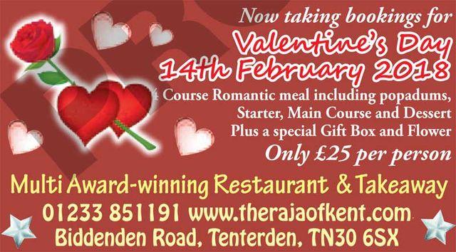 The Raja of Kent - Valentines Day