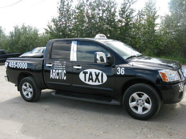 Arctic Taxi car