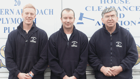 House clearance team