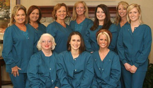 Group Picture — Dedmond Dentistry Team in Lincolntin, NC