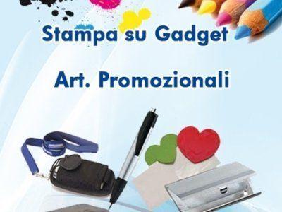 stampa su gadget e articoli promozionali